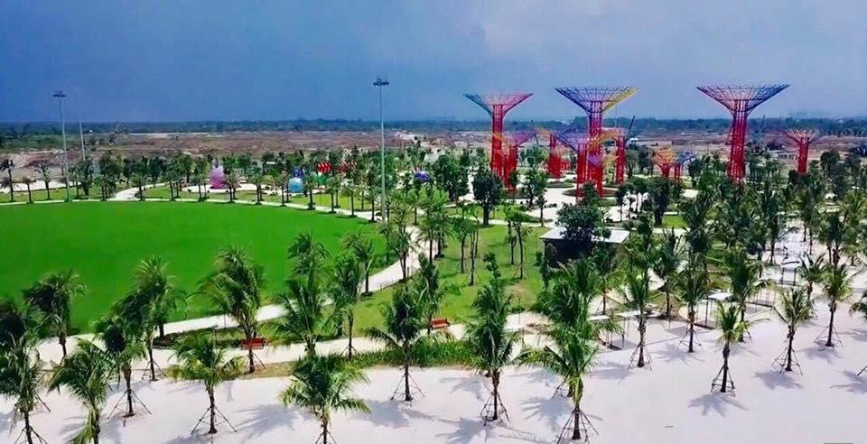 Công viên ánh sáng đang trong quá trình hoàn thiện và dự kiến sẽ khai trương vào tháng 10/2019.