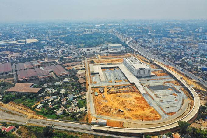 Dự án bến xe Miền Đông đang quy hoạch