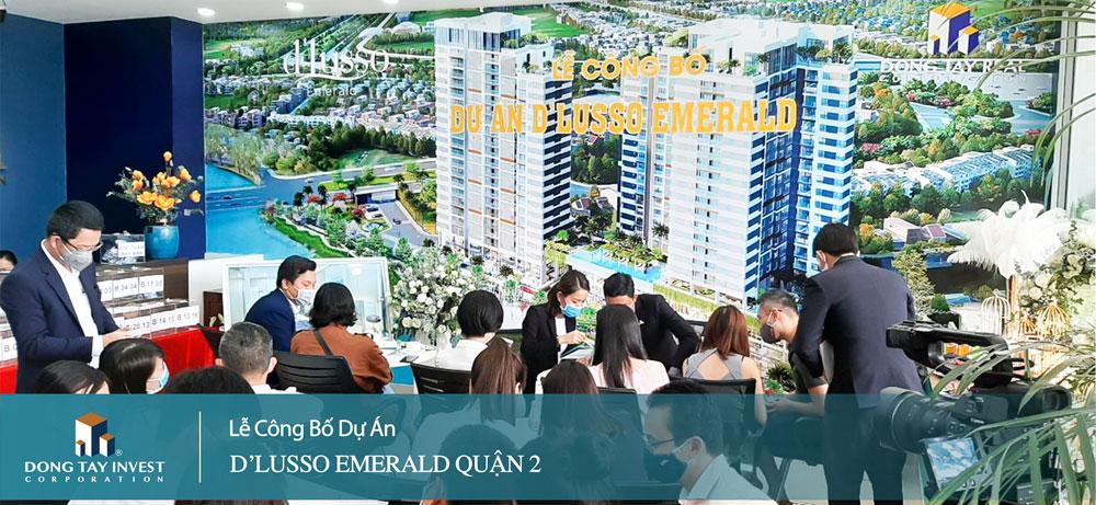 Lễ công bố dự án D'Lusso Emerald