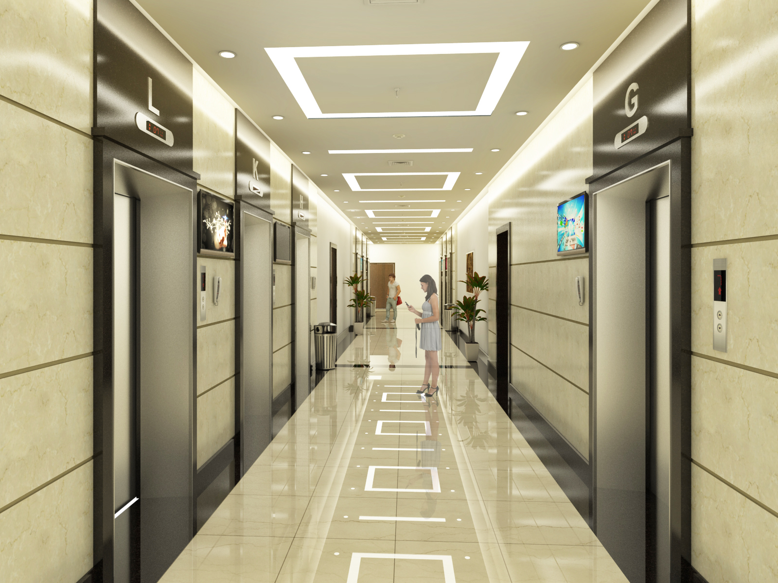 Thang máy là tiêu chí quan trọng của căn hộ chung cư