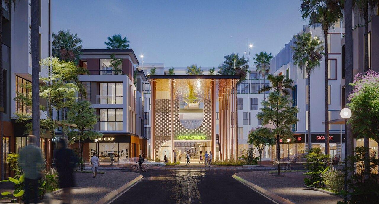 Phối cảnh dự án Meyhome Capital Phú Quốc