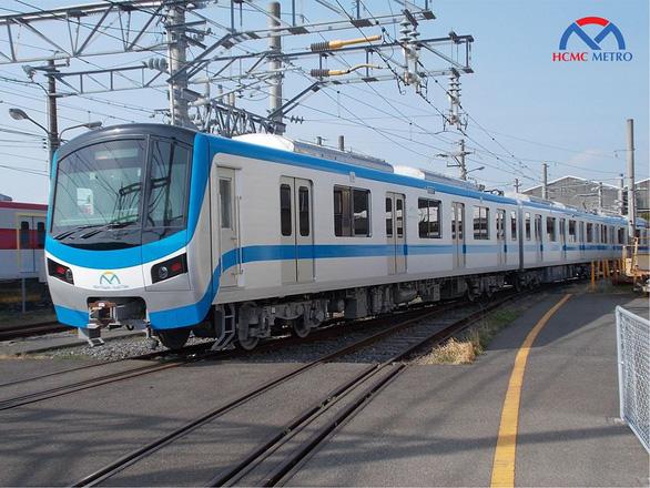Đoàn tàu của tuyến metro số 1