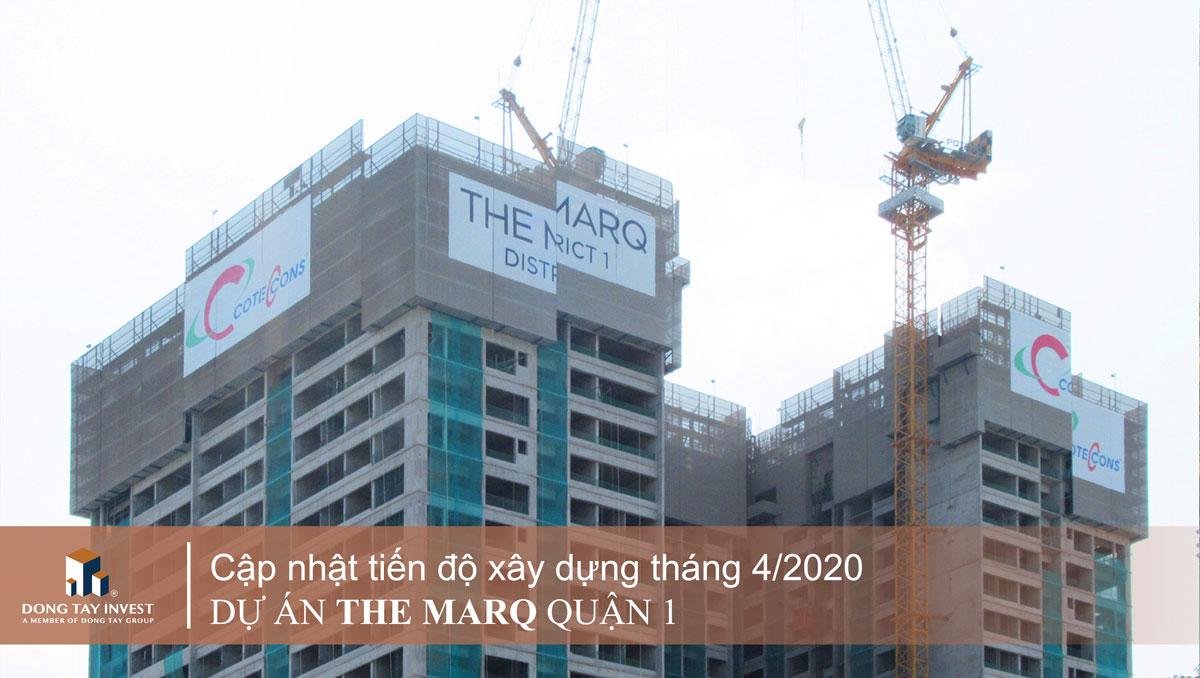 Tiến độ căn hộ The marq quận 1