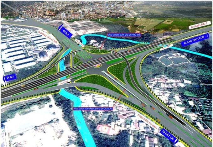 TPHCM đồng loạt khởi công xây dựng 13 dự án hạ tầng giao thông lớn