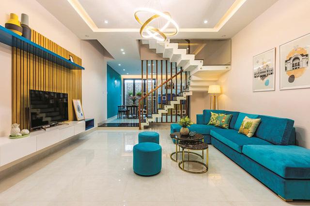 Thiết kế phòng khách căn hộ hạng sang đẹp mắt