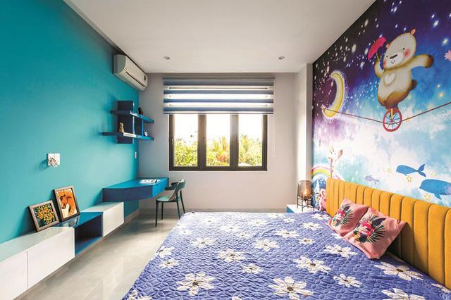 Một Phối cảnh thiết kế phòng ngủ của căn hộ hạng sang