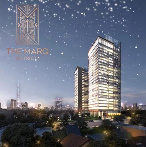 phối cảnh the marq quận 1