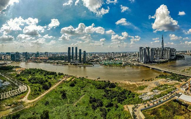 Thủ Thiêm được định danh là khu đô thị đẳng cấp quốc tế trong tương lai