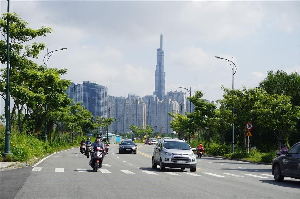 TPHCM đang quy hoạch Thành phố Thủ Đức trong tương lai sẽ thành nơi có nhiều mảng xanh, rộng rãi, đáng sống.