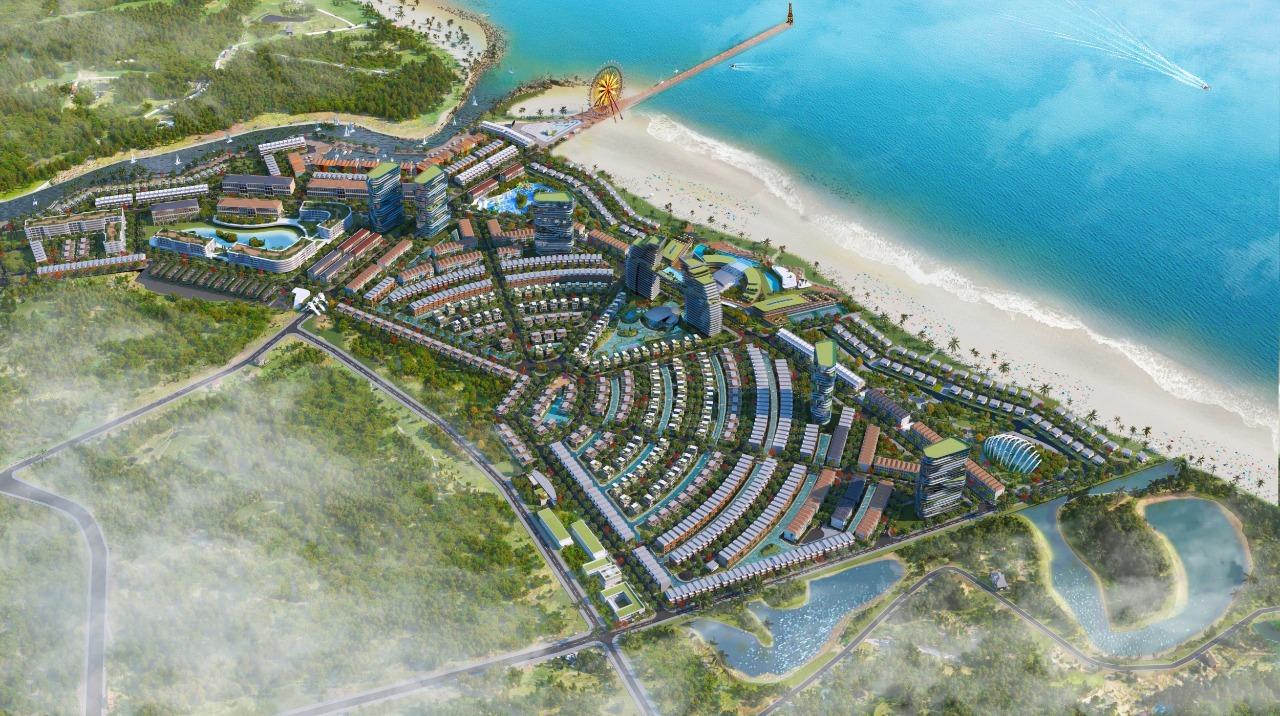 Mặt bằng tổng thể dự án Venezia Beach – Luxury Residences & Resort – tổ hợp thương mại, giải trí, nghỉ dưỡng và du lịch đẳng cấp quốc tế